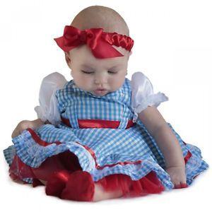 Baby Dorothy Costume Newborn Girls Outfit Halloween Fancy Dress Up | eBay