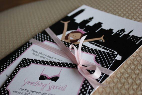 Printable Bachelorette Party Invitations Girls by lemonseedandco, $18.00