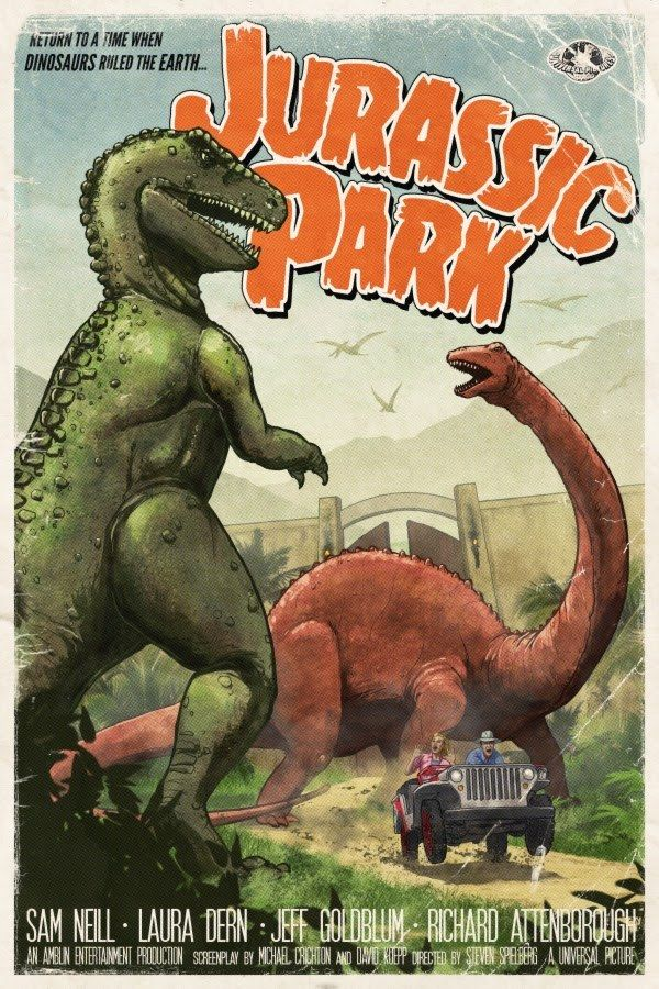 Jurassic Park by Tim Anderson *