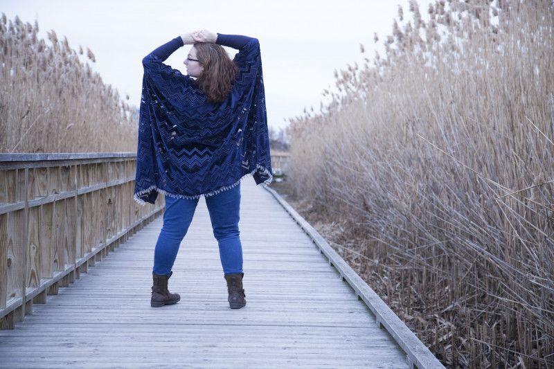 DIY Not? Aralia Shawl Redux - Mood Sewciety -   19 DIY Clothes For Winter fabrics ideas