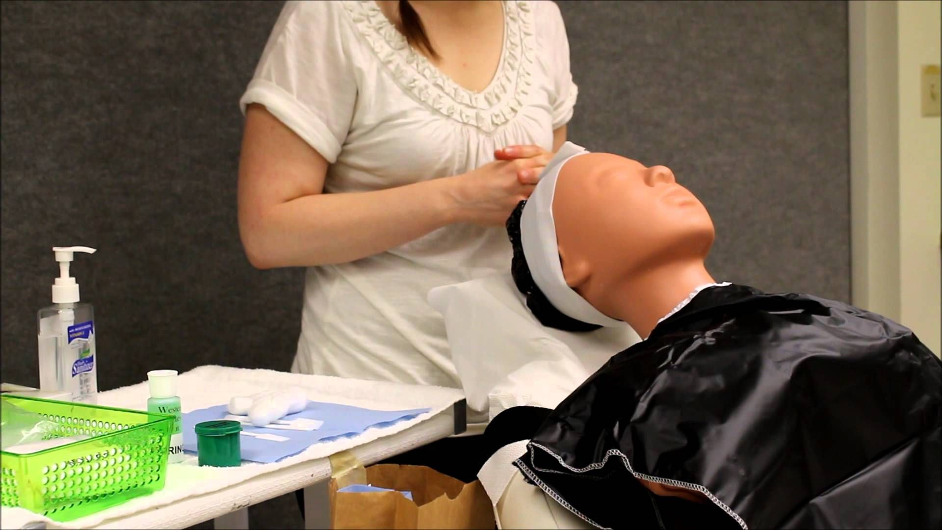 State Board Exam Prep Video Massage Cosmetology