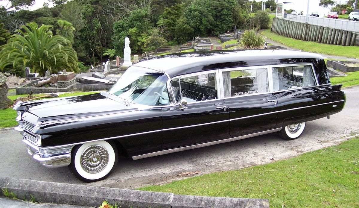 1964 cadillac hearse by miller meteor