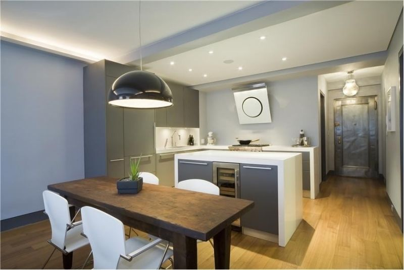 Moderne Dunstabzugshaube als Blickfang in der Küche - 100 Design - moderne dunstabzugshauben k che