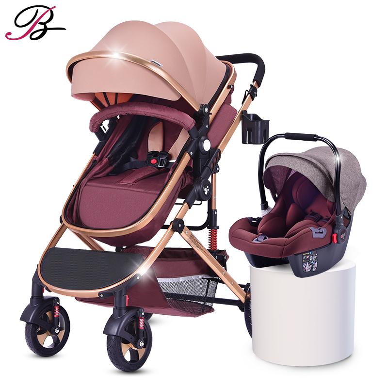7.8 Multifunction High Landscape 2 In 1 Baby Stroller