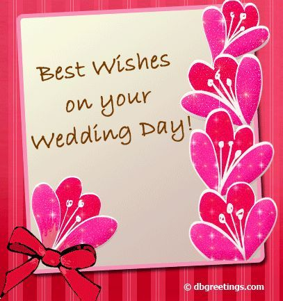 Wedding Day Wishes Greeting Cards