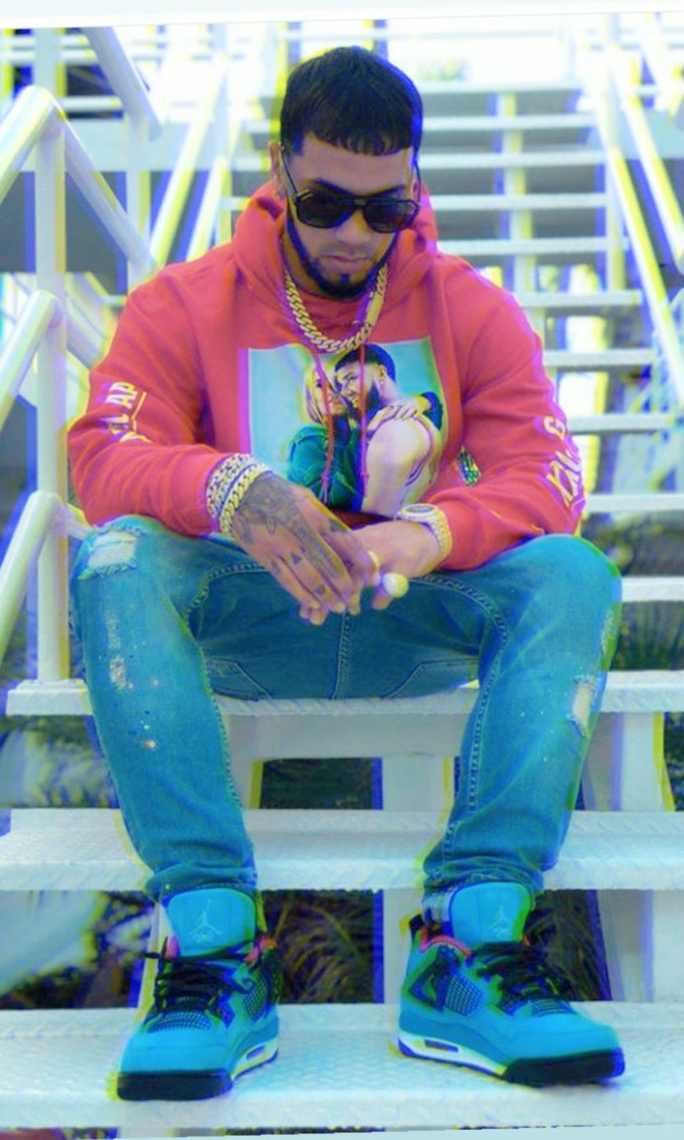 Repost Anuel Aa Rapper Style Cute Wallpapers Bunny Pictures