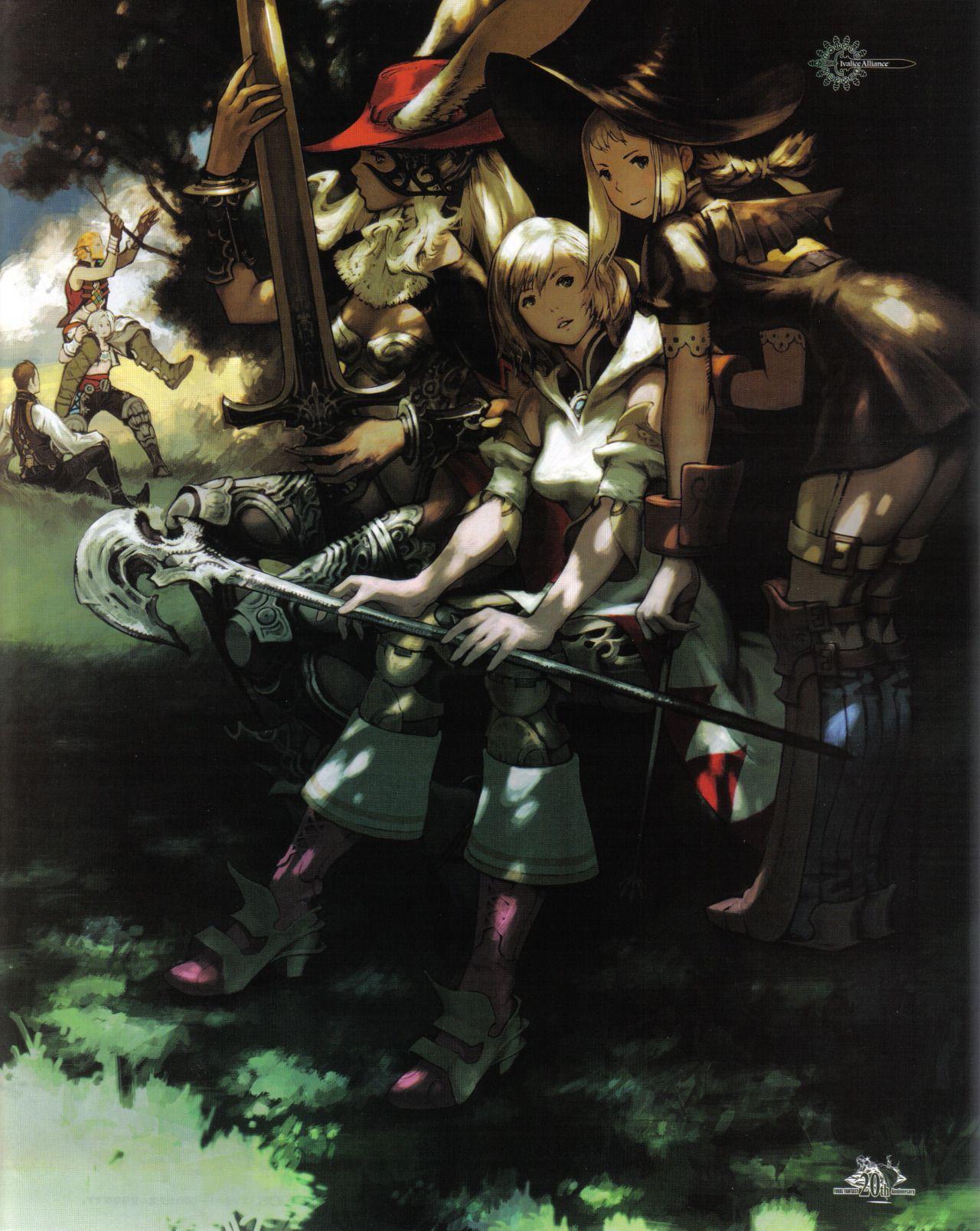 Final Fantasy 12 Hentai videogame art saturdays - final fantasy xii international