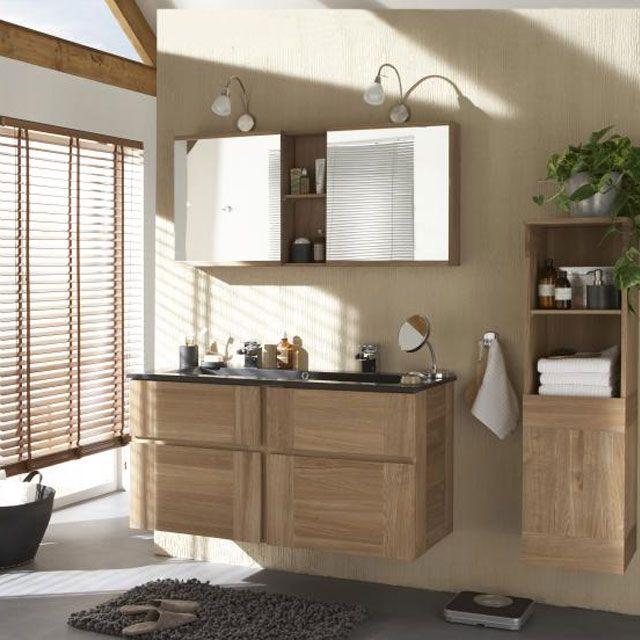 meuble salle de bain castorama essential