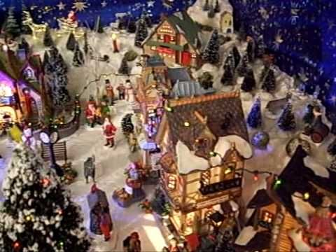 Miniature Christmas Village Displays   Here's a Video of my Dad's Lemax Christmas Village. Assembled and ...