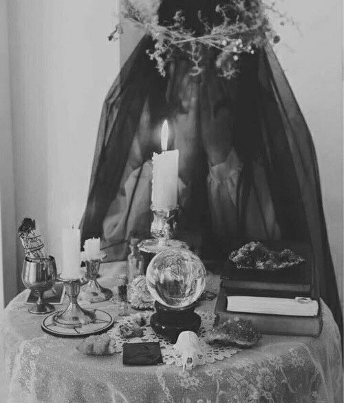 Image result for crystal ball veiled fortune teller