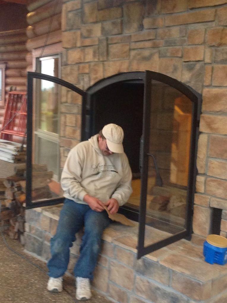 Exterior: Delightful Indoor Outdoor Double Sided Wood ...