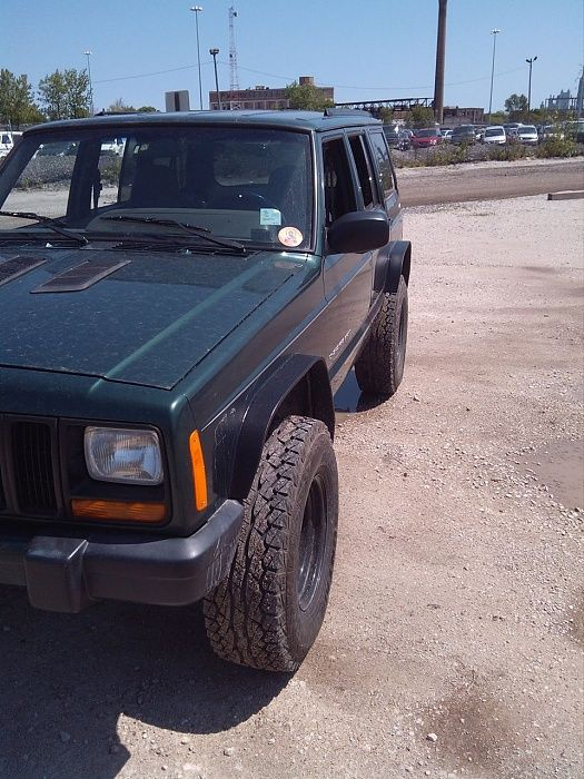 100 Or Less Homemade Fender Flares Jeep Cherokee Forum Fender