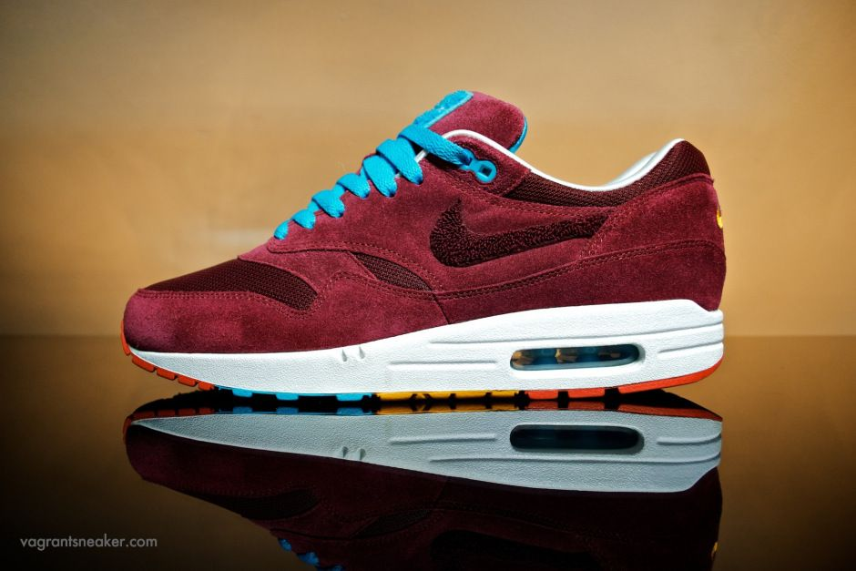 "check out 981d5 558f0 Nike Parra x Patta Air Max 1 ""Cherrywood Red"""