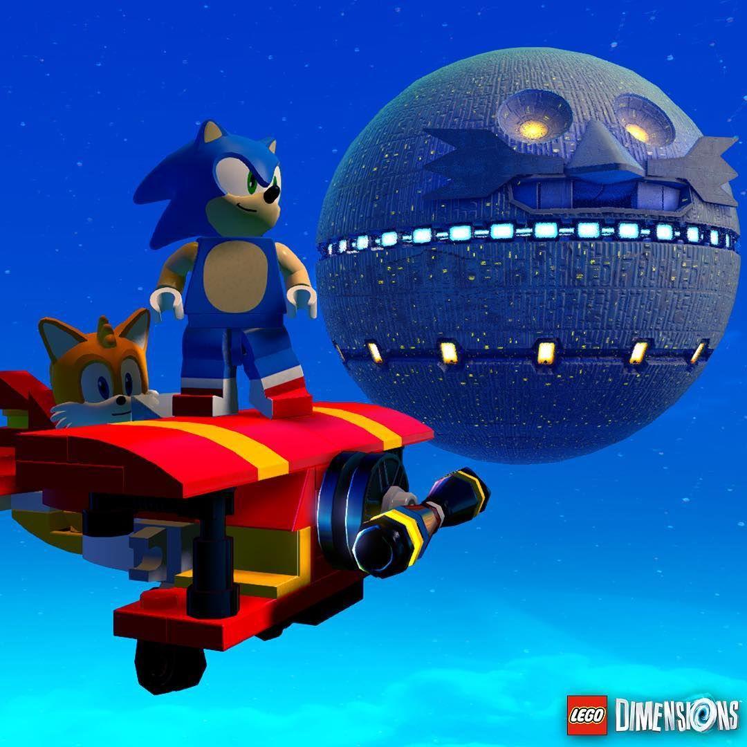 That's no moon… #LEGODimensions #BreakTheRules #SonicTheHedgehog #MashupMadness