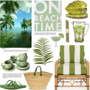 A Green Day at the Beach