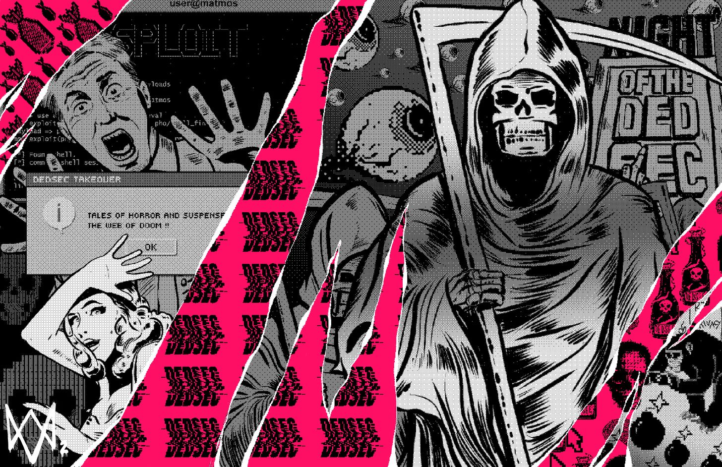 Dedsec Watch Dogs Dog Wallpaper Grim Reaper