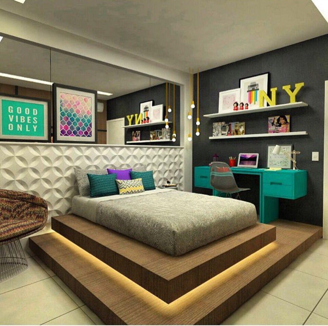 Jugend Schlafzimmer. Schlafzimmer Ideen Licht Bettwäsche