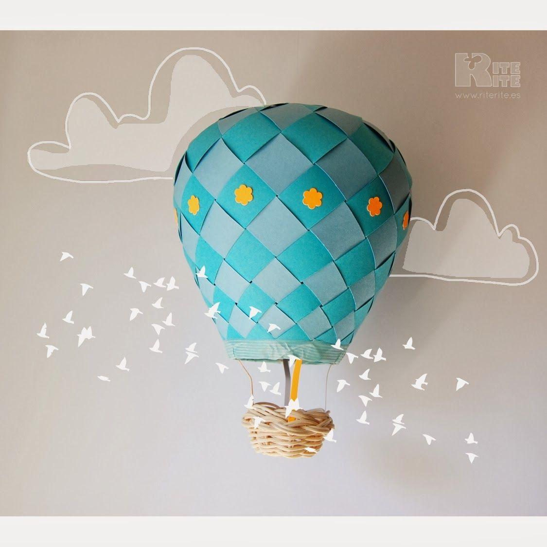 Rite rite globos aerostticos papel decoracin habitacin art rite rite globos aerostticos papel decoracin habitacin design referenceair balloonbaby roomorigamikids jeuxipadfo Choice Image