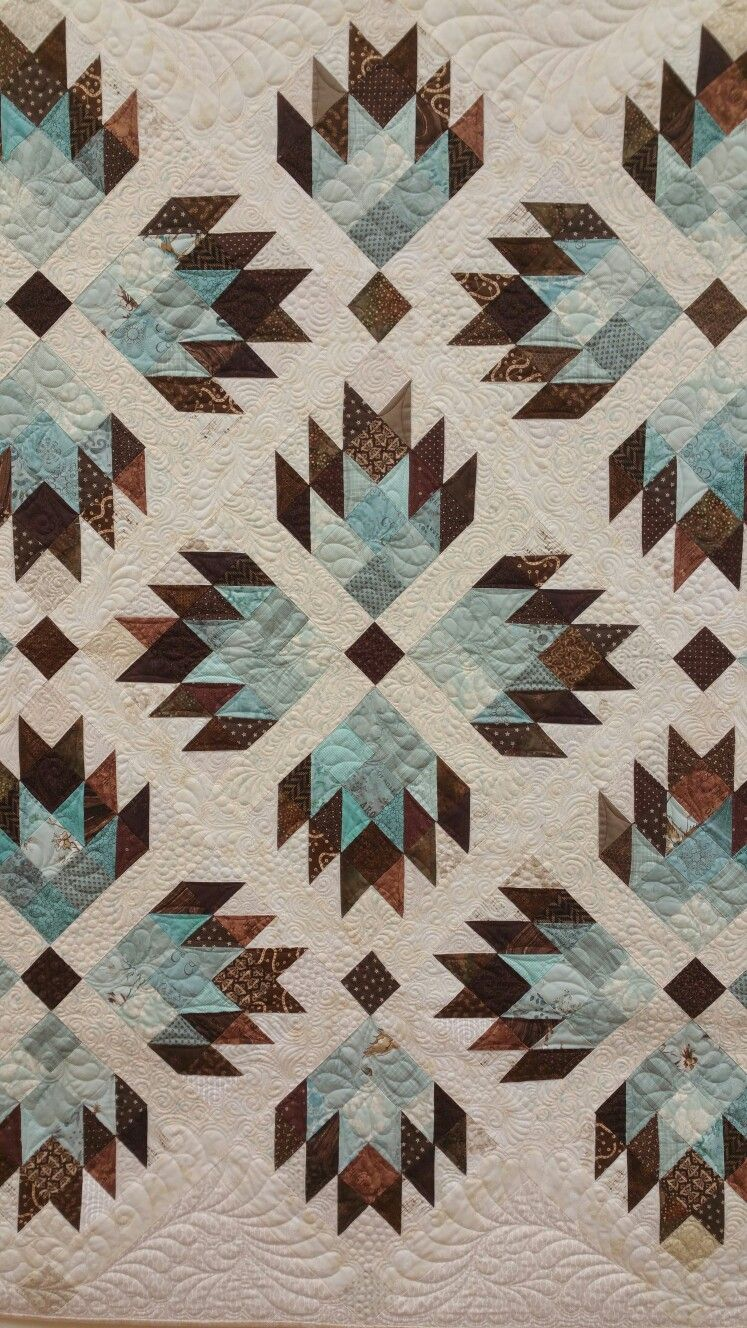 Double Bear Paw By Material Girlfriends Quilting Pinterest