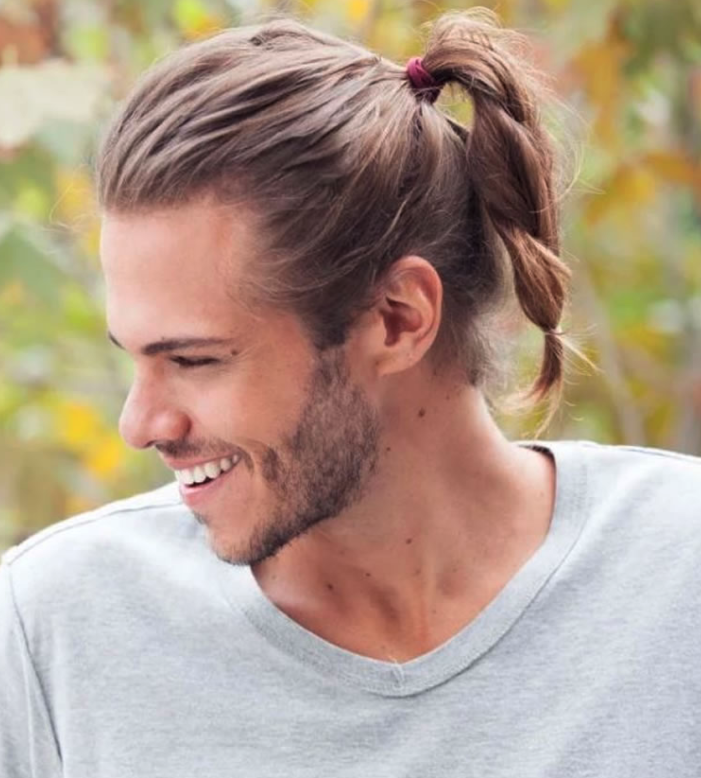 The Best 12 Long Hairstyles For Men New Hairstyle In 2020 Man Ponytail Mens Ponytail Hairstyles Long Hair Styles Men