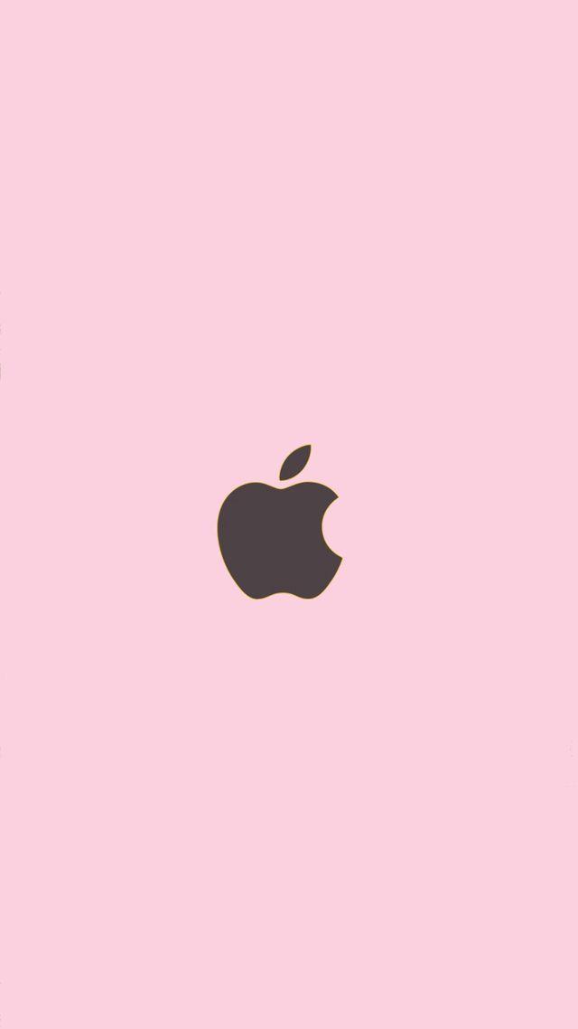 Fondo Solido Apple Para Iphone Fondo De Pantalla Rosado Para