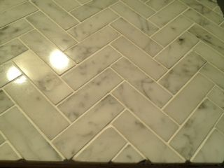 Kitchen Tiles Layout the herringbone pattern is madelaying a tile at a 45 degree