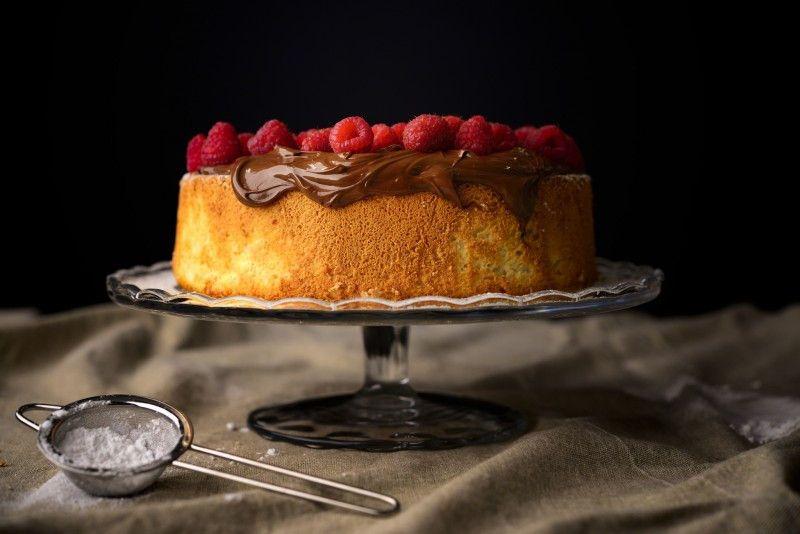 angel-cake-lamponi - ricetta perfetta
