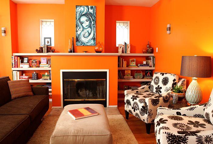 20 best Bristol Essendon Orange Interior Colour Schemes images on