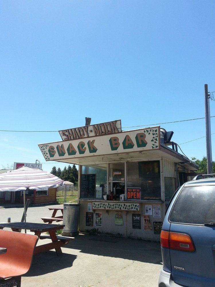 The Shady Nook - Laytonville, CA, United States. Snack bar!