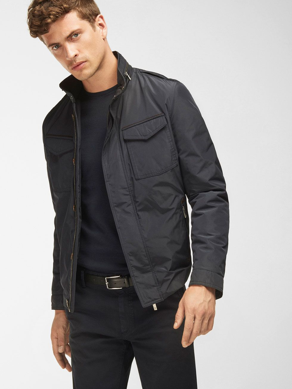 Autumn winter 2016 Men´s HOODED QUILTED JACKET at Massimo Dutti ...