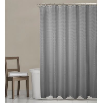 Charlton Home Sawin Single Shower Curtain Fabric Shower Curtains