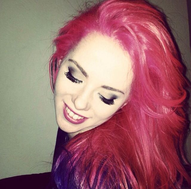 Missing my old pink purple and blue hair!