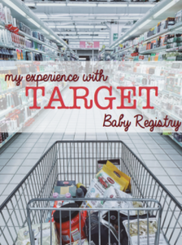 My Experience With Target Baby Registry - 2018 (With ...