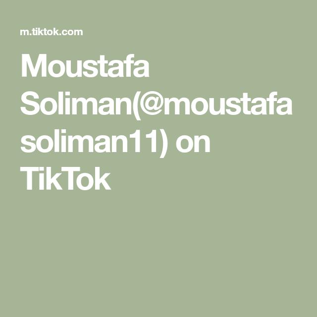 Moustafa Soliman Moustafasoliman11 On Tiktok Music Create Yourself Videos