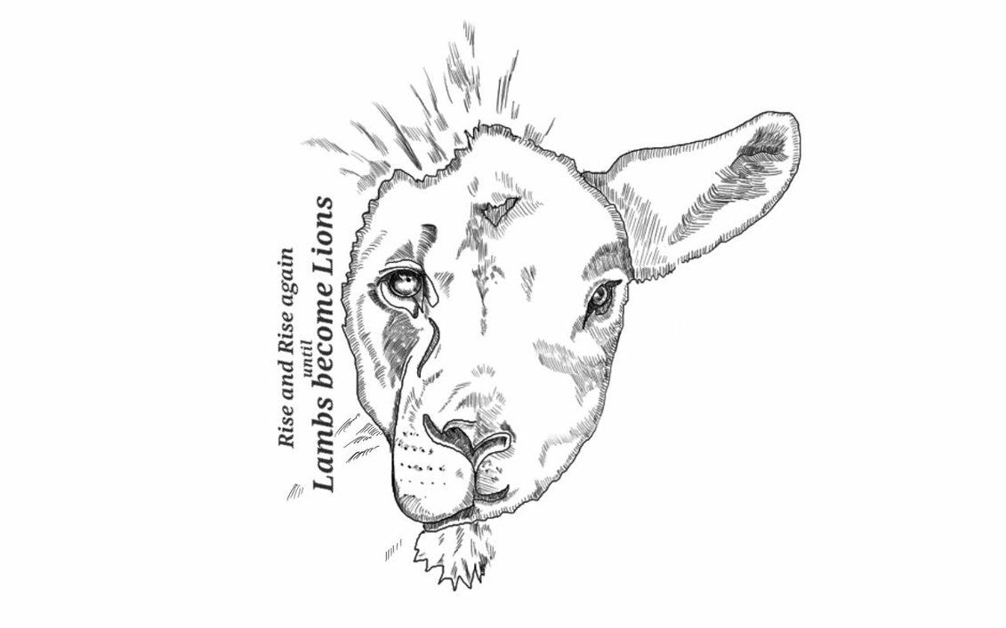 Lion Lamb By Gibzova On Deviantart Leao E Cordeiro Tatuagens Cristas Tatuagens De Leao