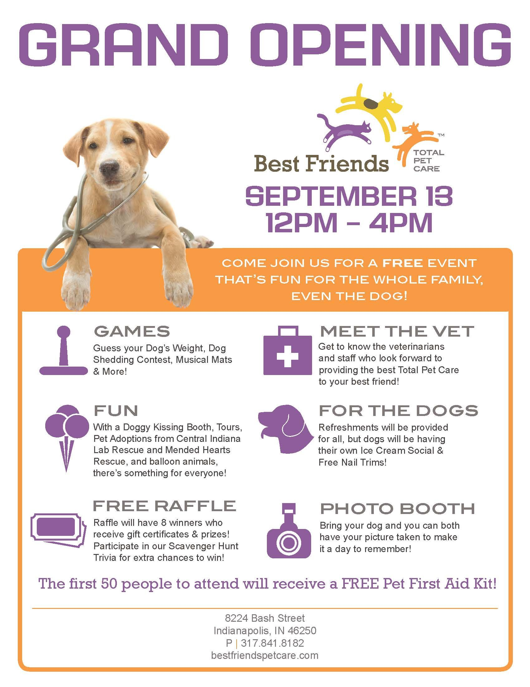 Meet Our Vet At The Best Friends Total Pet Care Grand Opening This