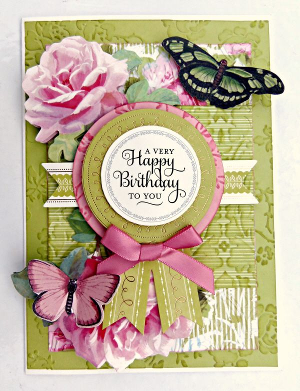 CAnna Griffin Inc Floral Impressions Card Making Kit This Crafting Includes Everything You Need To Make 48 Beautiful Cards For Every Occasion