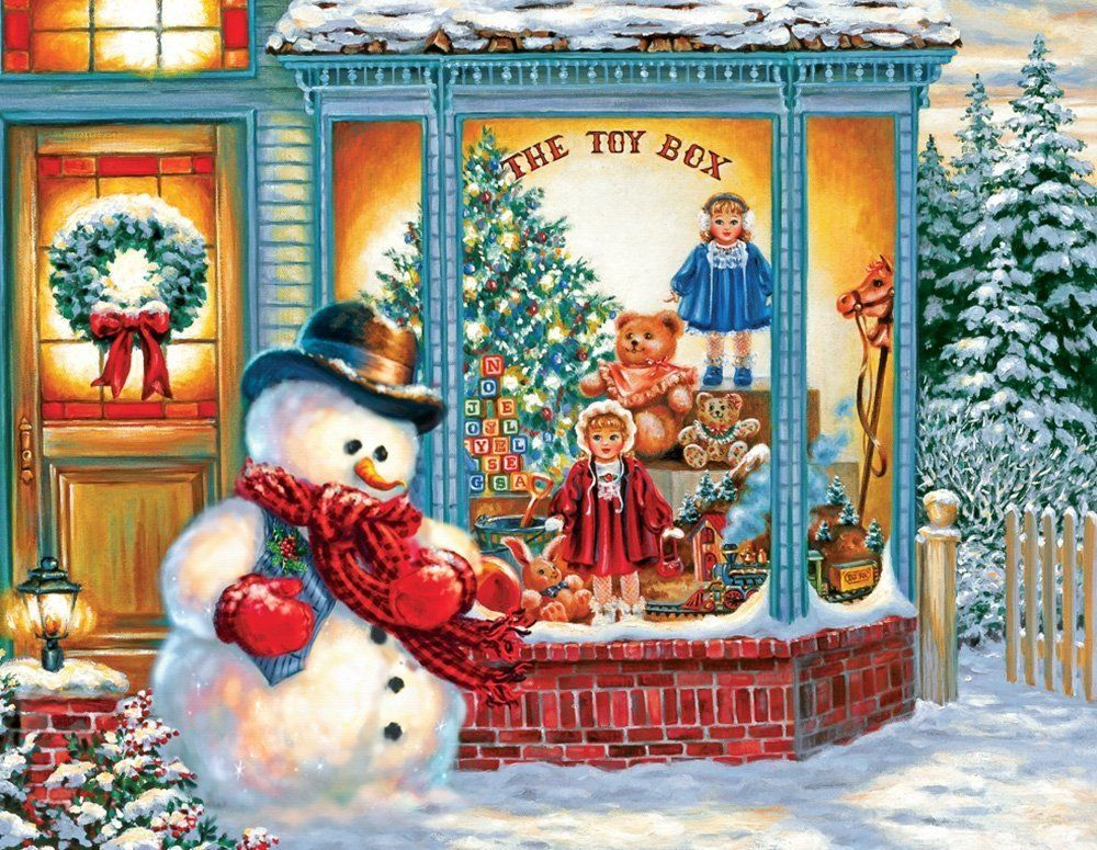 Frosty the snowman puzzle Great Jigsaw Puzzles Pinterest Toy