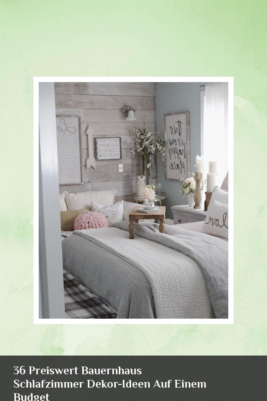 36 preiswert bauernhaus schlafzimmer dekor-ideen auf einem