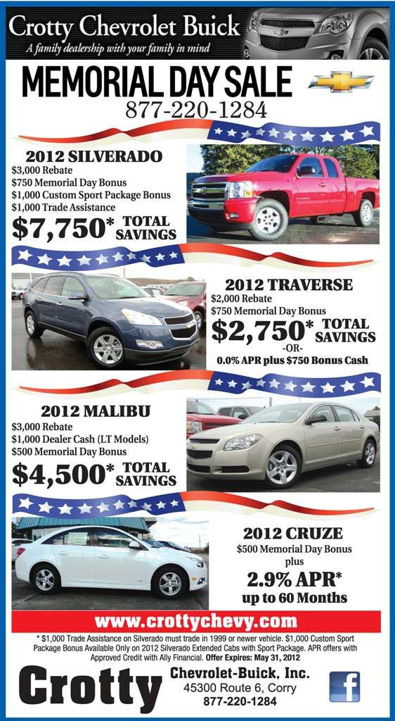 We Are Kicking Off The Summer With Our Memorial Day Sales Event