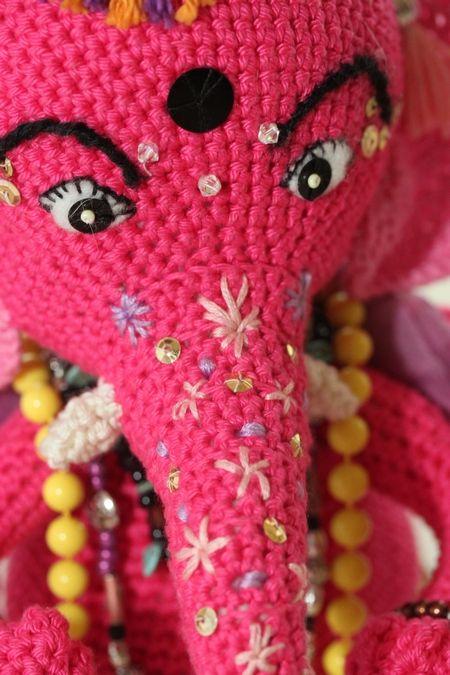 Crochet Ganesha