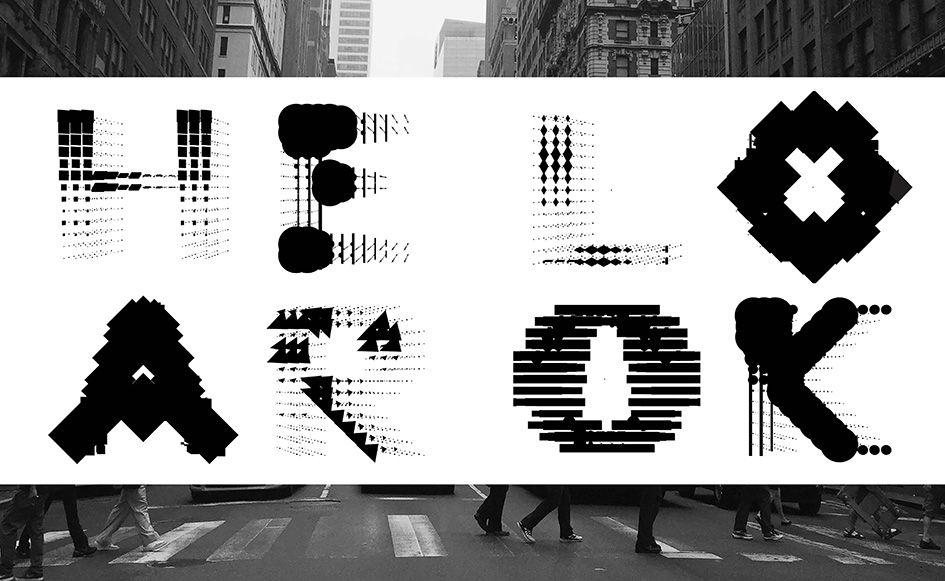 Ran Zheng wants us to feel, look and hear typography in miraculous ways…
