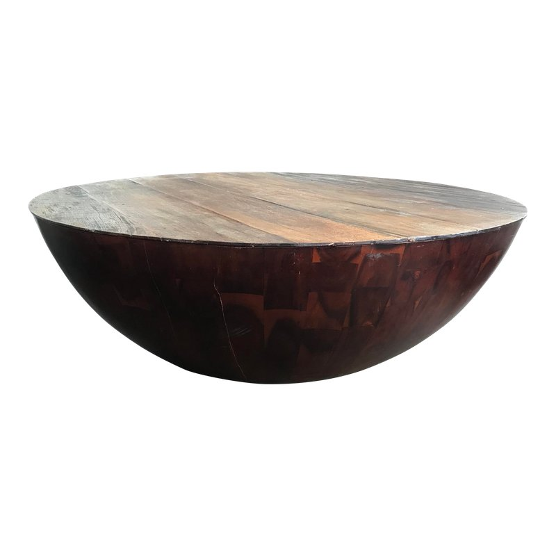 anthropologie coffee table used