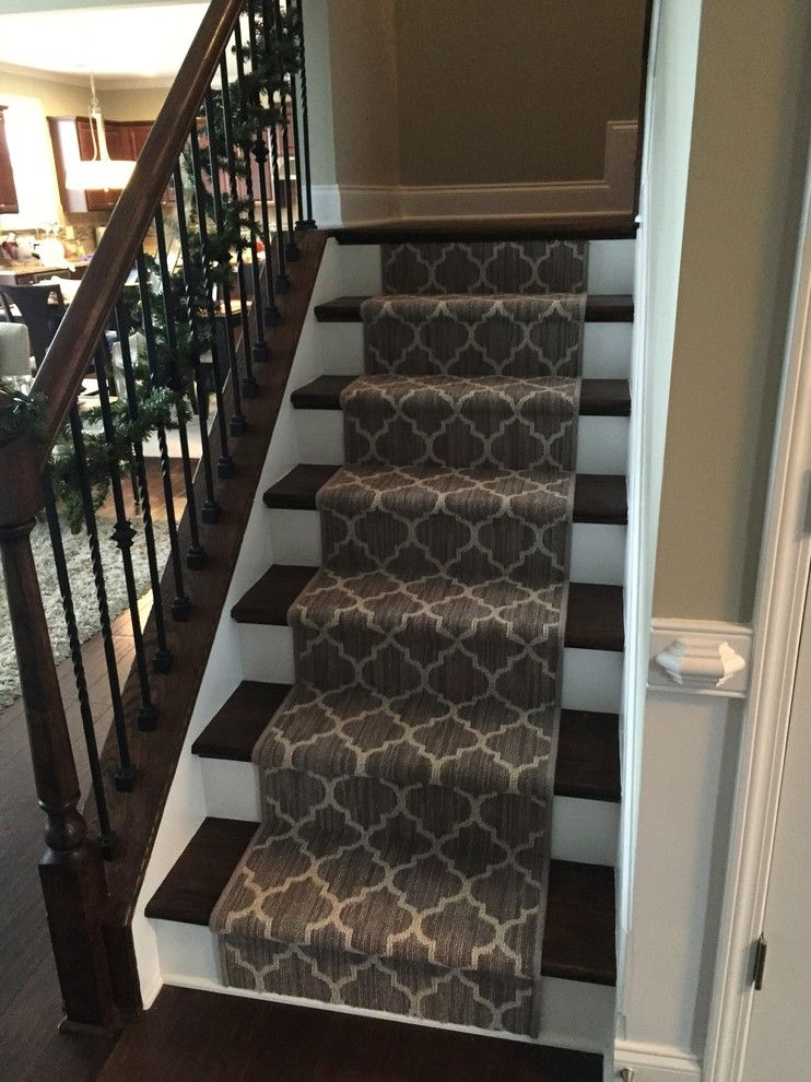 Superb Splashy Tuftex Trend Bound Carpet Open Stairs Stair Runners  Surged Edge Tuftex Carpet Atlanta  Spaces Remodeling Ideas With Bound Carpet Open Stairsu2026