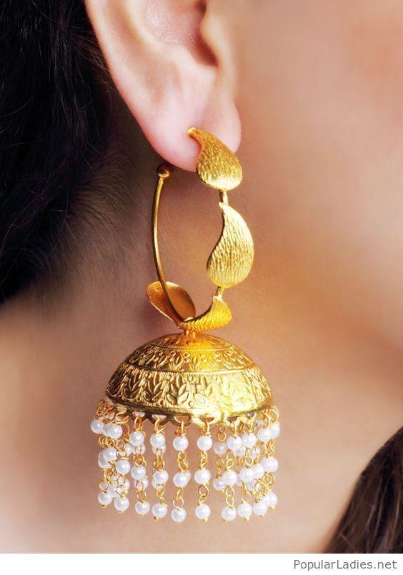 Wonderful Golden Earring Design Inspire