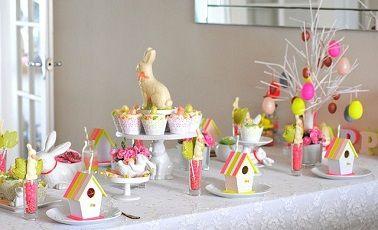 10 d co table de p ques faciles faire tables et roses - Decoration table paques faire soi meme ...