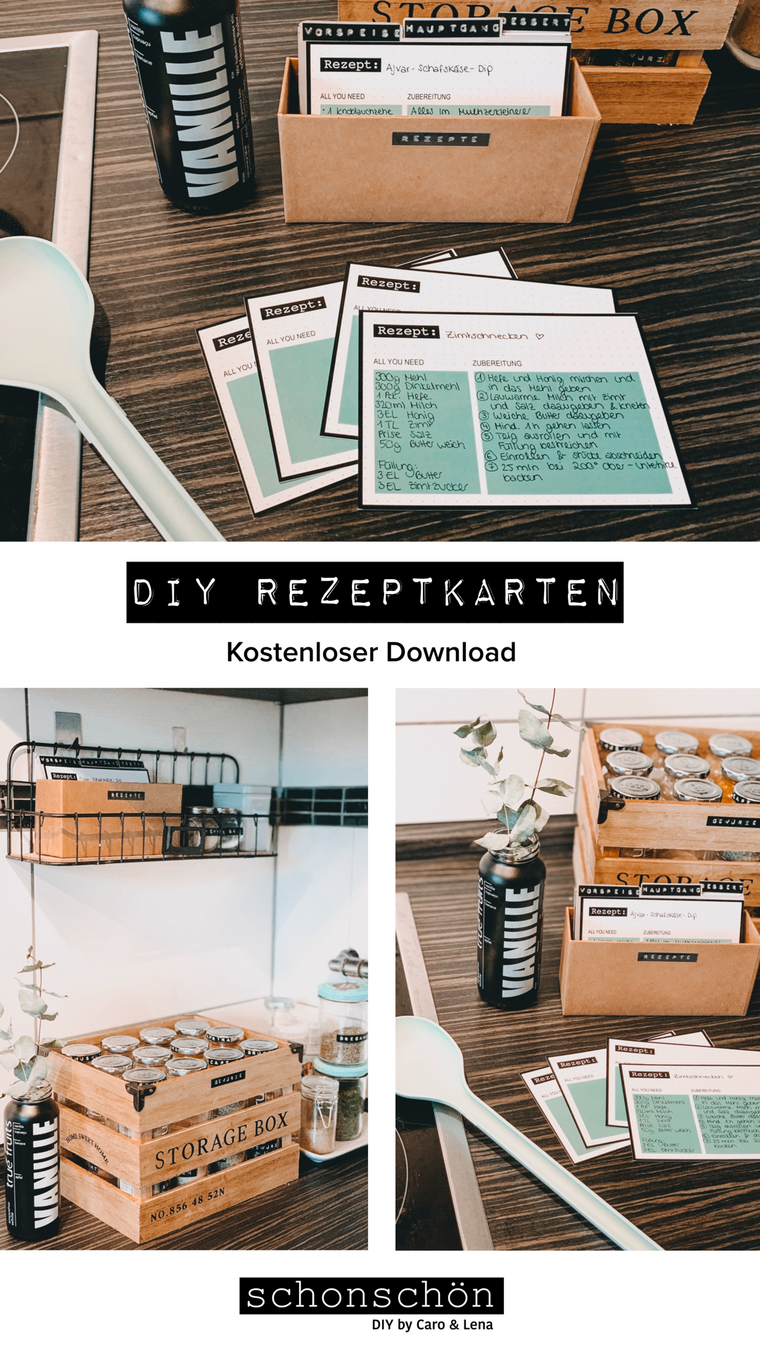 Photo of DIY Rezeptkarten