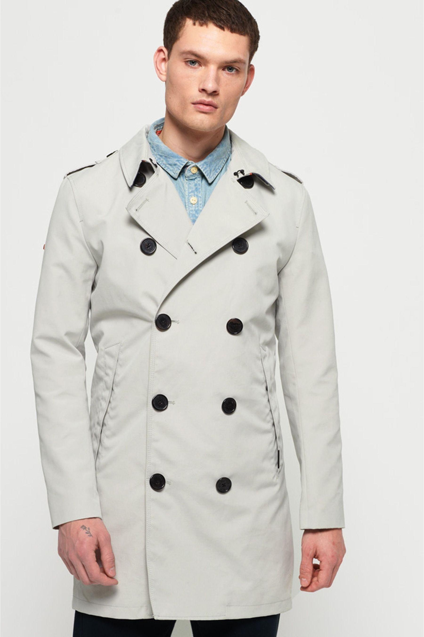 Superdry Summer Rogue Trench Coat | Trench coat men