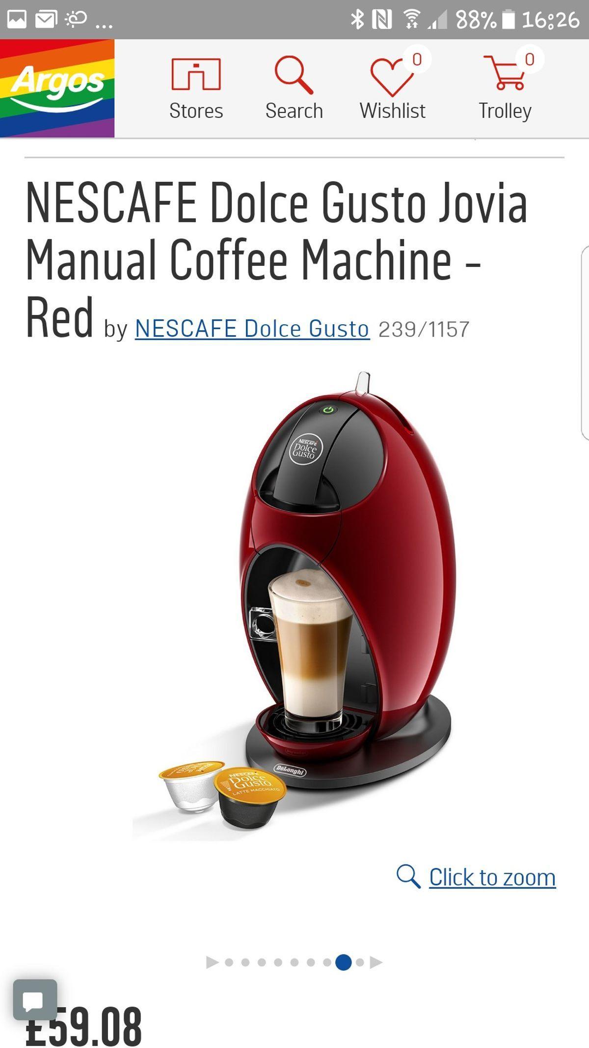 Argos Home Dolce Gusto Coffee Pod Holder di 2020
