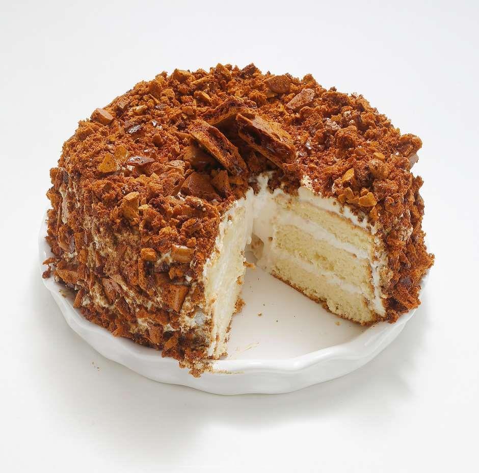 Recipe Blum S Coffee Crunch Cake Coffee Crunch Cake Recipe Crunch Cake Desserts
